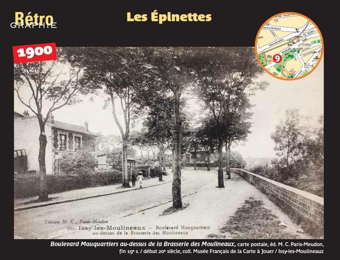 Journées du patrimoine 2017 - Rétro-graphie : vues des quartiers d'Issy