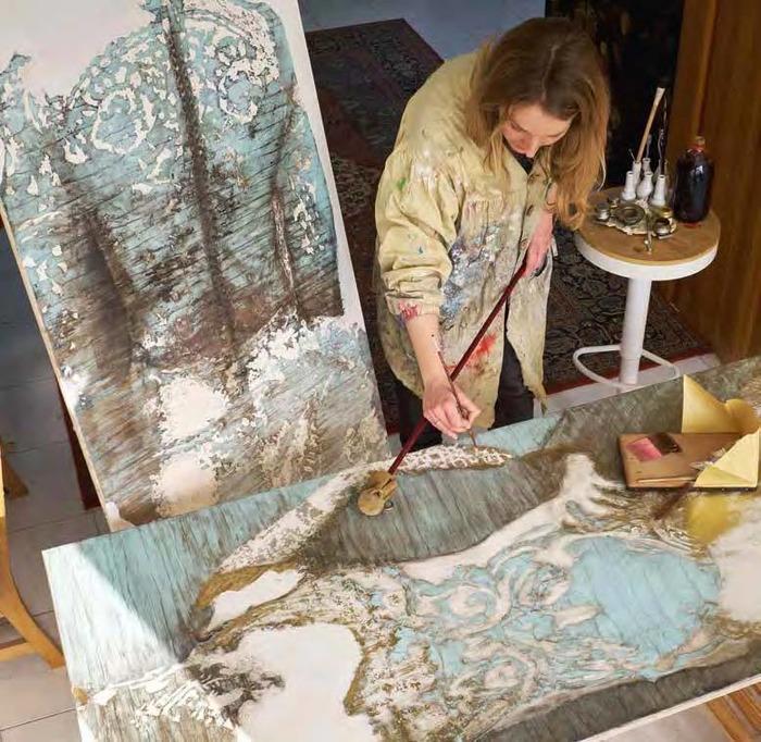 Journées du patrimoine 2018 - Mme de Pompadour mécène, amoureuse des arts était ouverte aux idées nouvelles qu'elle souhaitait partager.