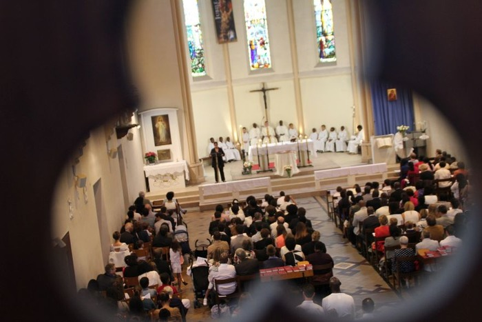 Réunion - baptême pour les enfants en âge-scolaire