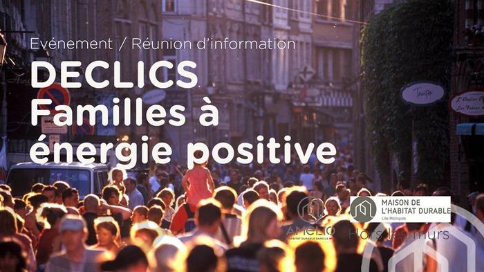 Réunion d'information Familles à Energie Positive
