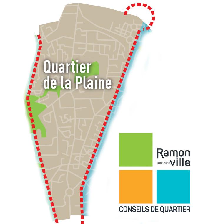 Réunion publique du conseil de quartier de La Plaine