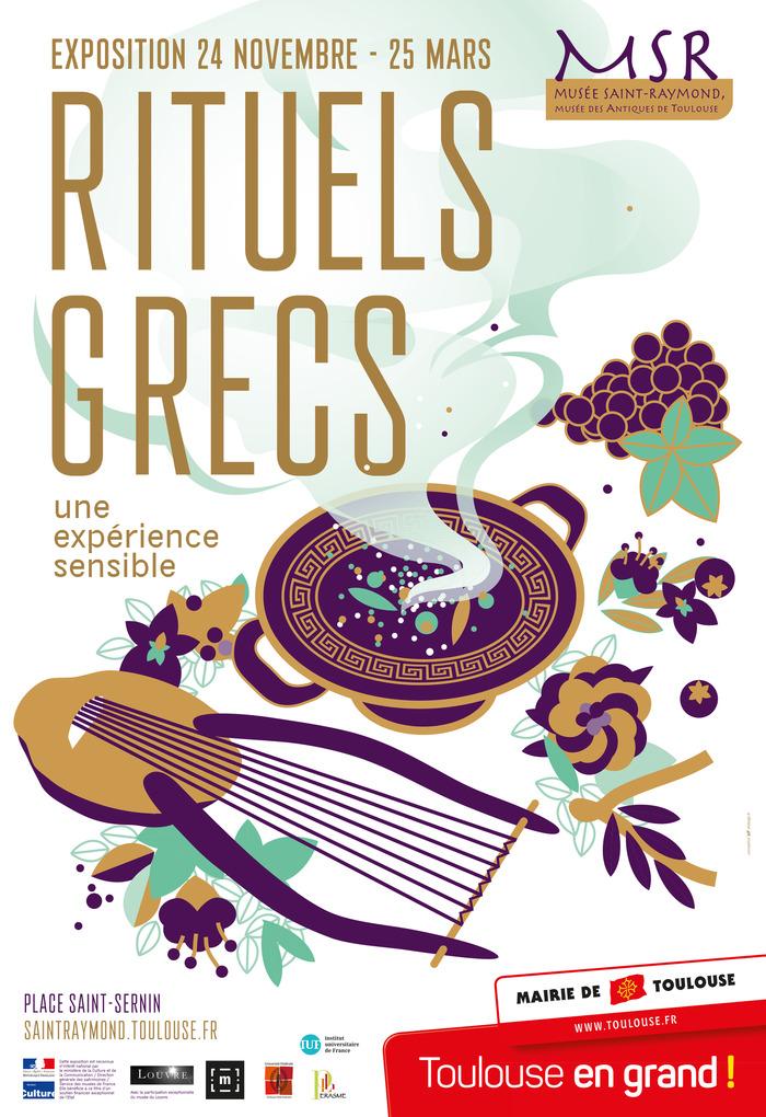 Rituels grecs, une expérience sensible