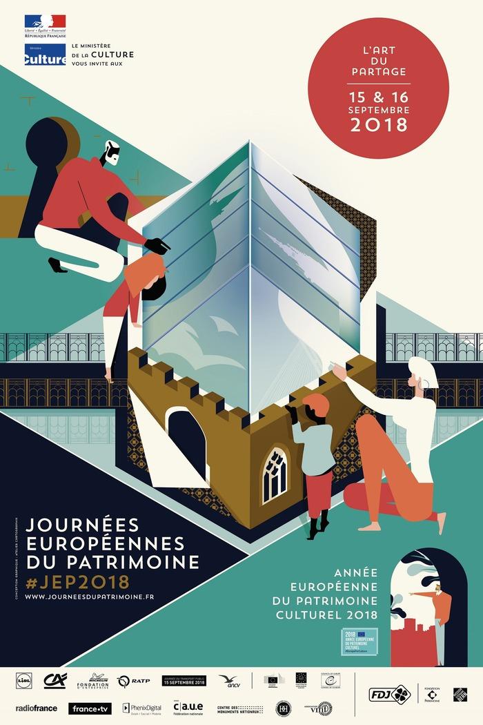 Journées du patrimoine 2018 - Rodez, de place en place