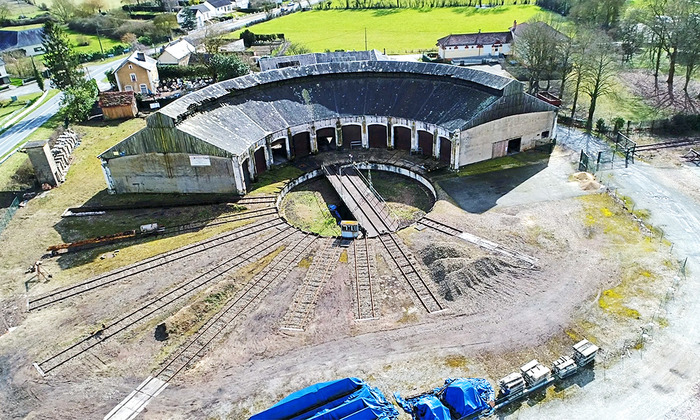Journées du patrimoine 2018 - Rotonde Ferroviaire