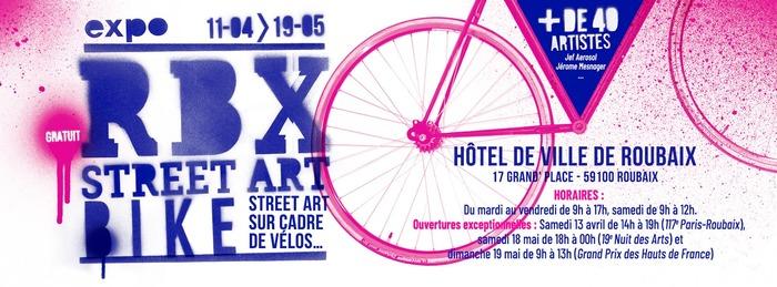 Roubaix Street Art Bike