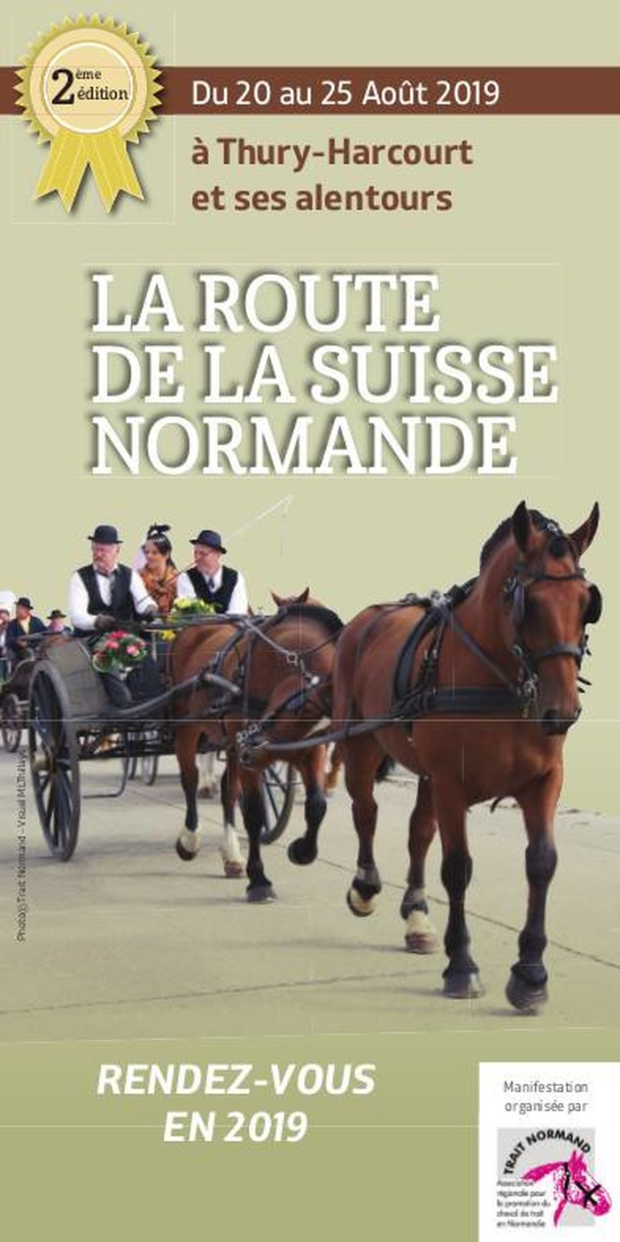 Route de la Suisse Normande, à Thury-Harcourt (14) et ses alentours