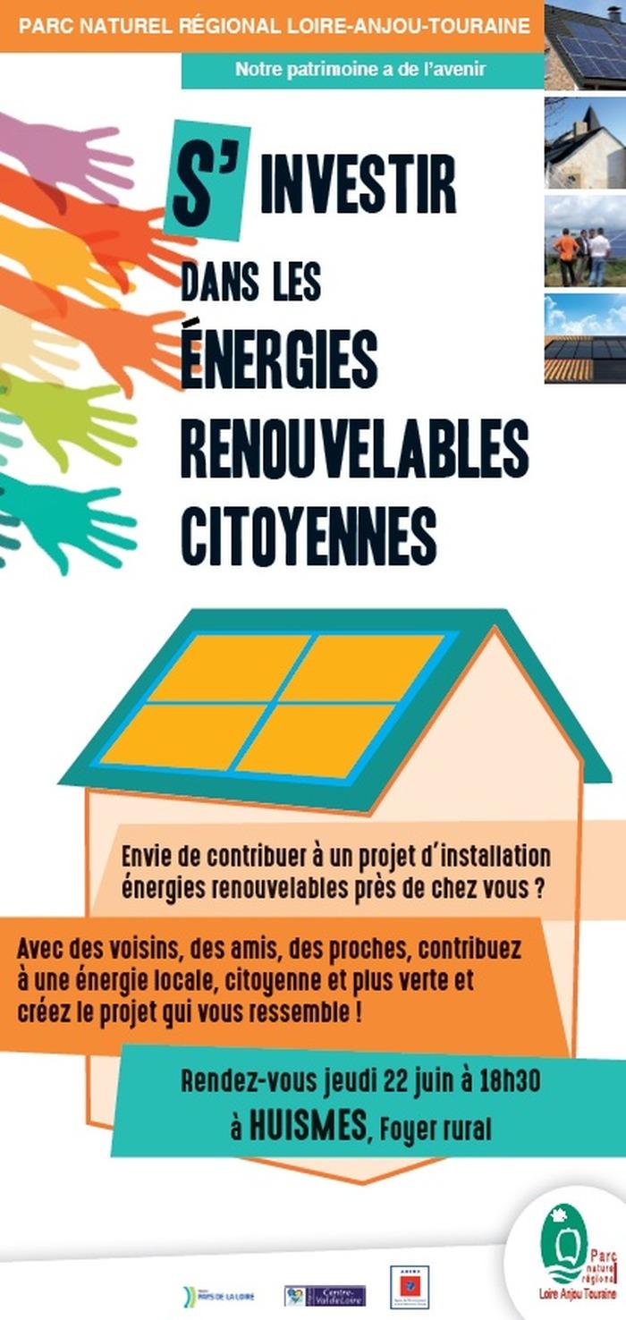 S'investir dans les énergies renouvelables citoyennes à Huismes et alentours