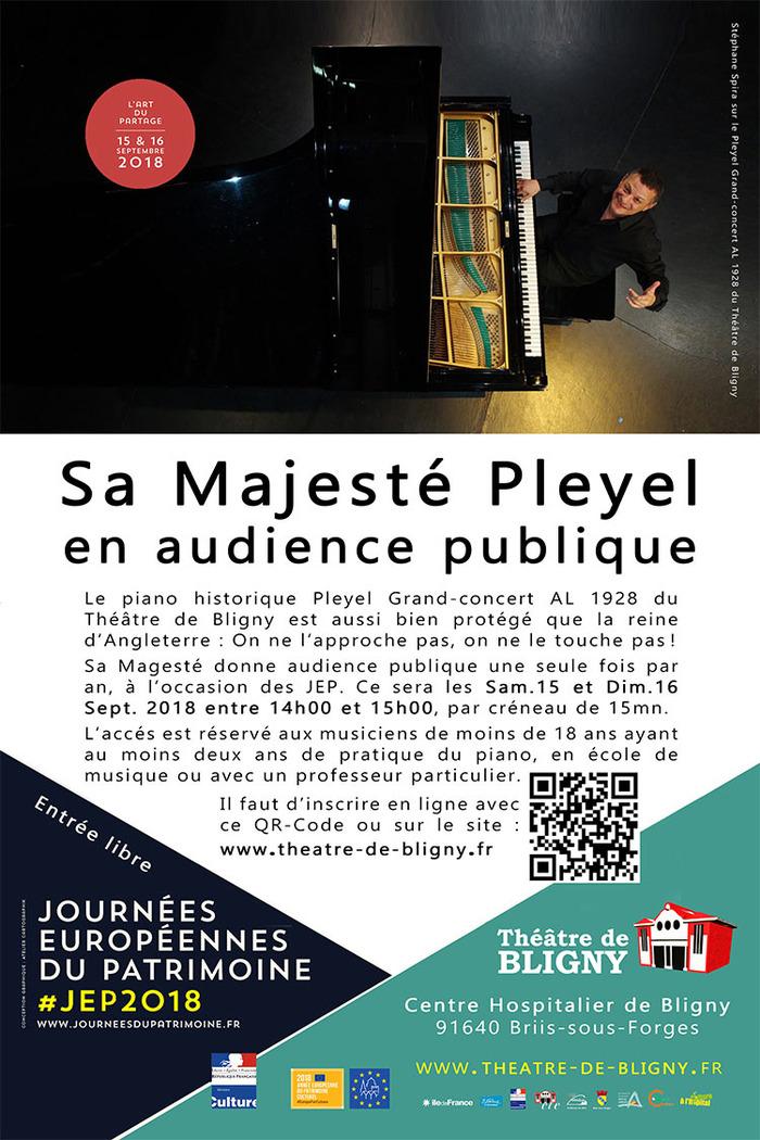 Journées du patrimoine 2018 - Sa Majesté Pleyel en audience public