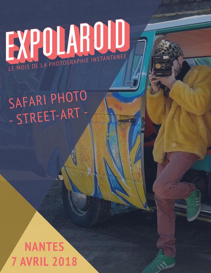 Safari Polaroid Street-Art en Combi
