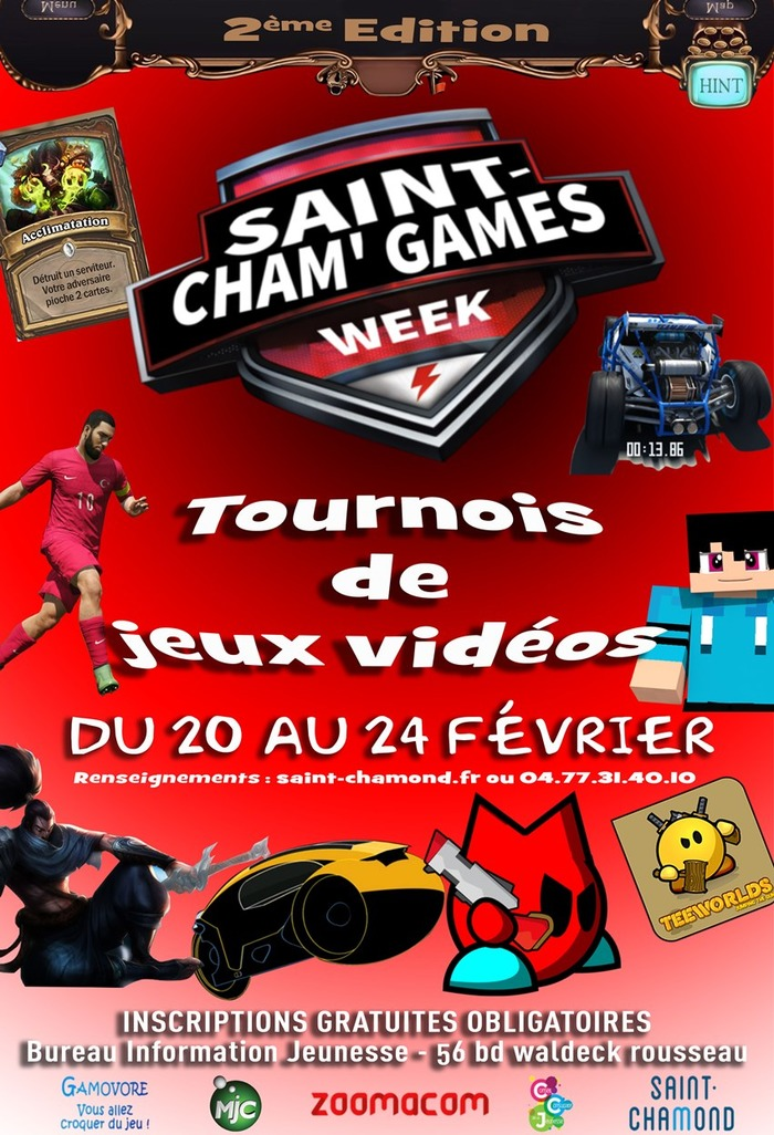 Saint-Cham Games Week