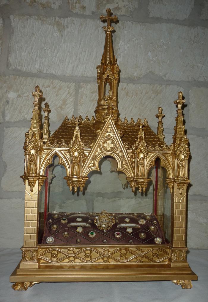 Journées du patrimoine 2018 - Le retour du reliquaire authentifié de Saint Martin