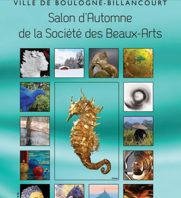 Salon d'automne de la société des Beaux Arts de Boulogne-Billancourt