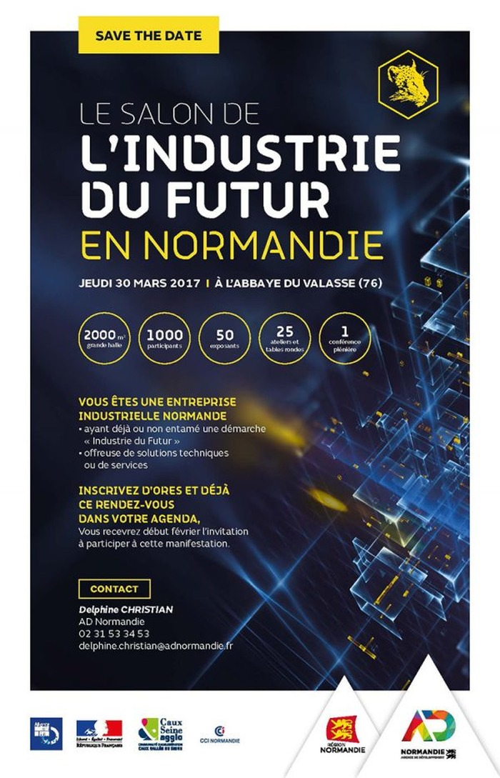 Commentez salon de l 39 industrie du futur en normandie for Salon de l industrie 2017