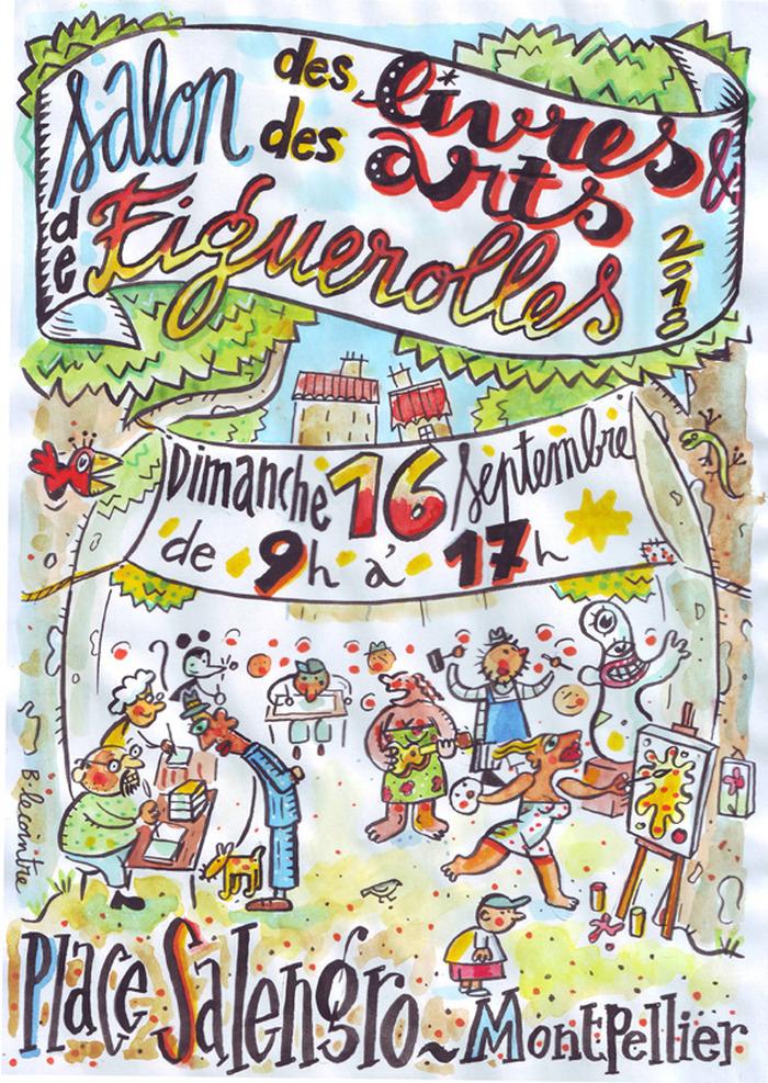 Journées du patrimoine 2018 - Salon des Livres et des Arts de Figuerolles