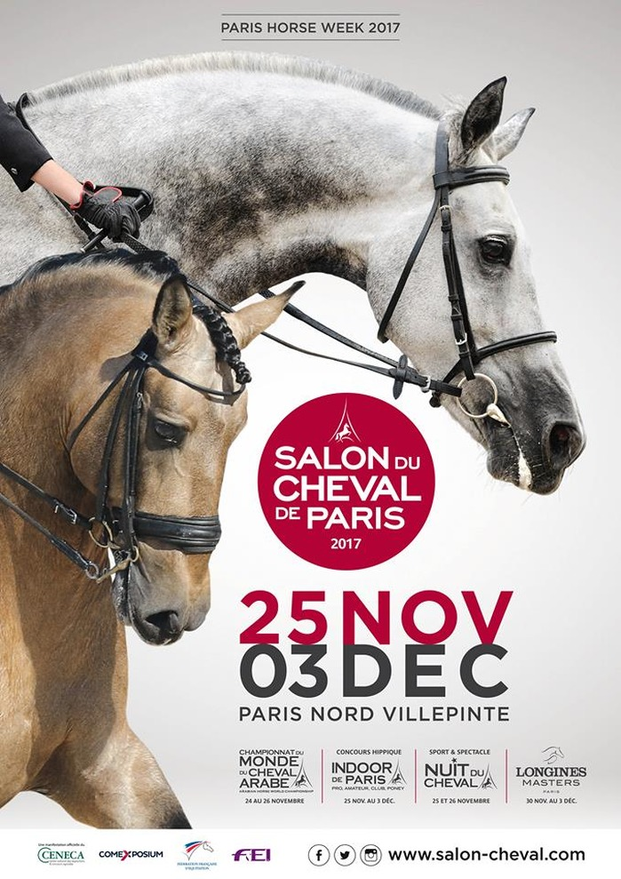 Salon du cheval de paris au parc des expositions de paris for Salon du chiot reze 2017
