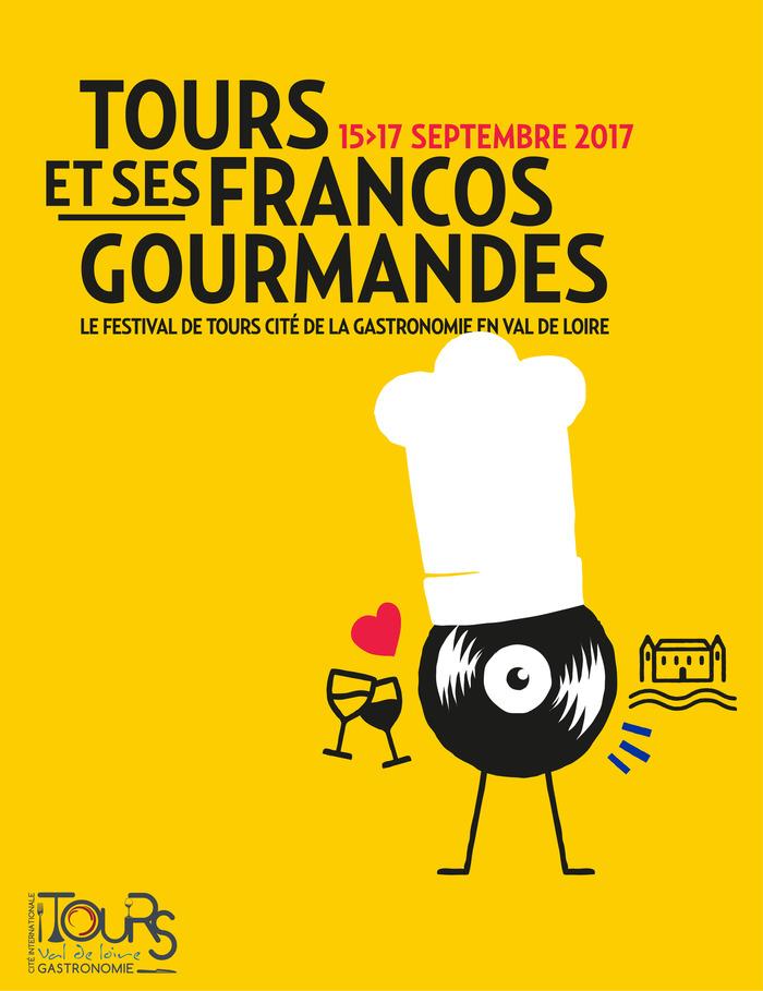 Journées du patrimoine 2017 - Tours et ses Francos Gourmandes : Salon du livre gastronomique