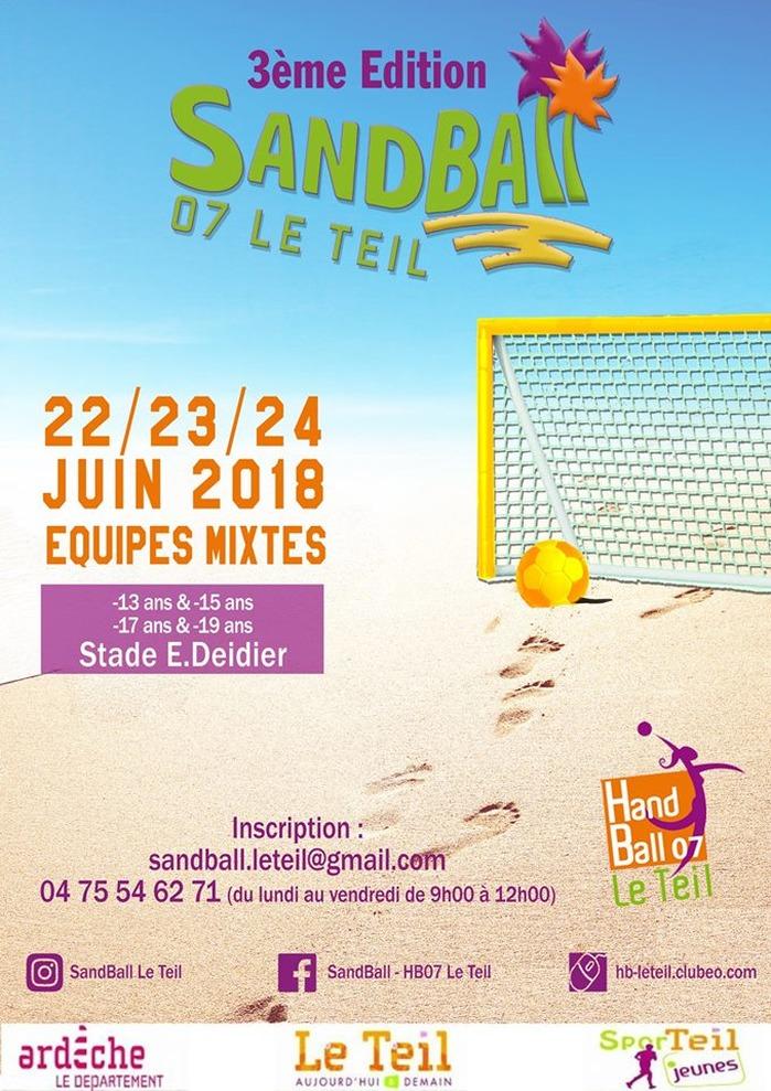 Sandball - HB07 Le Teil