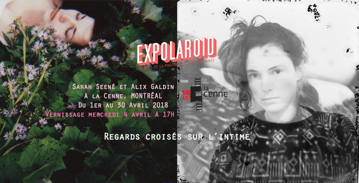 Sarah Seené et Alix Galdin, Regards croisés sur l'intime