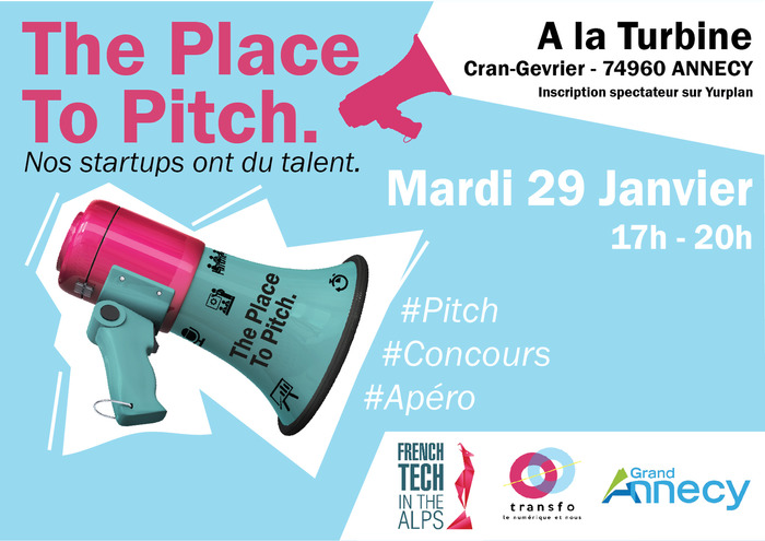 [Save the Date ... Festival Transfo] The Place to Pitch