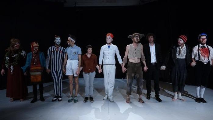 Scène ouverte de Clowns