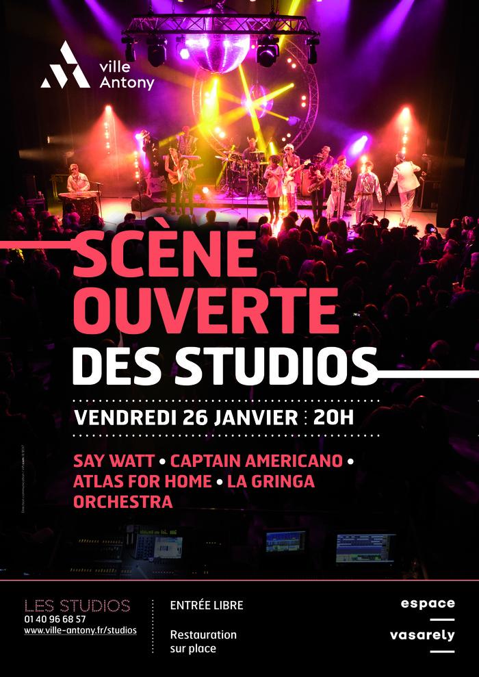 Scène ouverte des studios #2