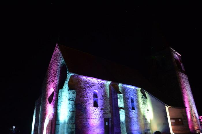 Journées du patrimoine 2018 - Scénographie lumineuse et sonore en extérieur