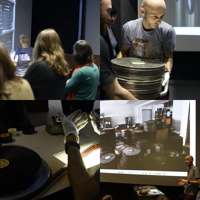 Journées du patrimoine 2017 - Séance découverte « La pellicule existe encore ! » et visite de la cabine de projection