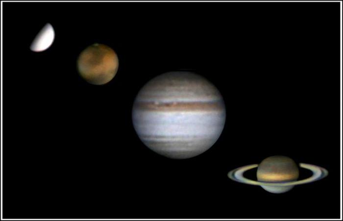 Journées du patrimoine 2018 - Séances de planétarium : Quatre planètes comme décor
