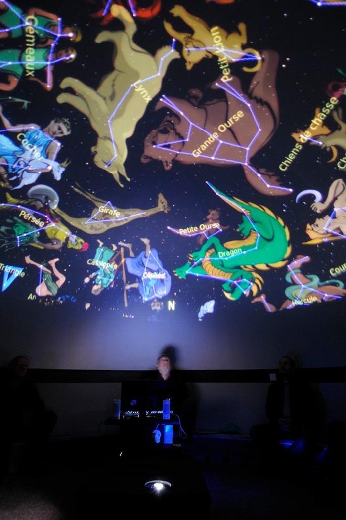 Journées du patrimoine 2018 - Projection : Séance de planétarium