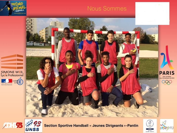 section sportive Handball