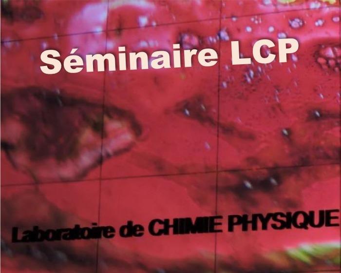 Séminaire de l'Institut de Chimie Physique par Graham A. Worth - mercredi 29 janvier 2020 à 10h30