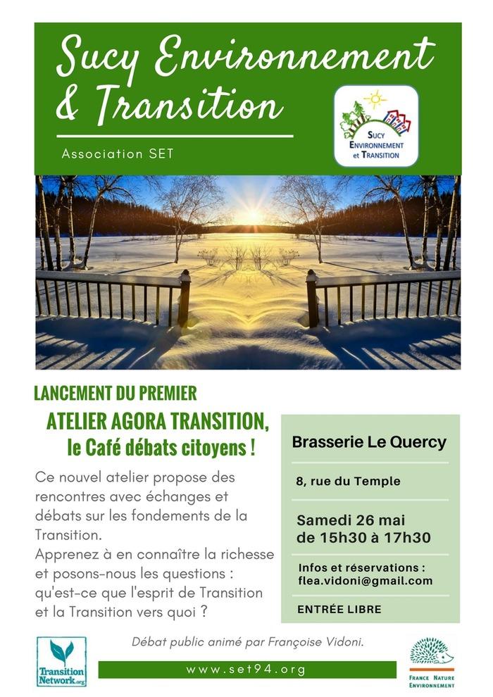 SET - Lancement du 1er atelier Agora Transition, le Café débats citoyens !