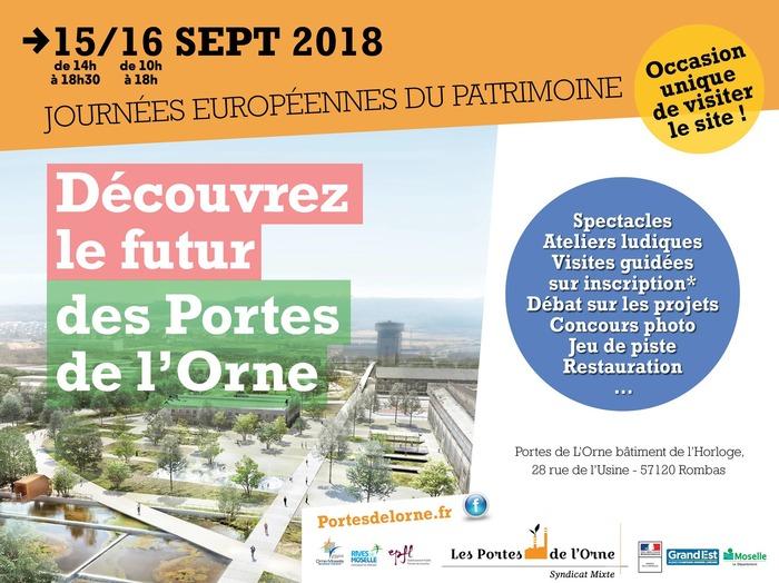 Journées du patrimoine 2018 - Site de l'ancienne Usine sidérurgique Portes de l'Orne à Rombas/Amnéville