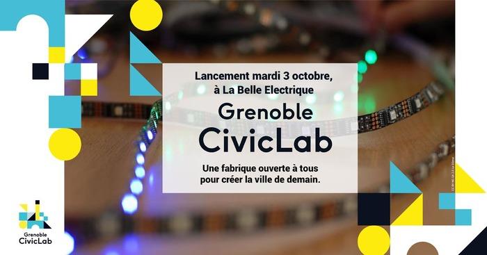 Soirée de lancement Grenoble CivicLab