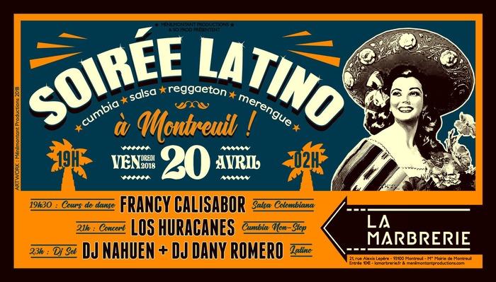 Soirée Latino : danse, concert, DJ set