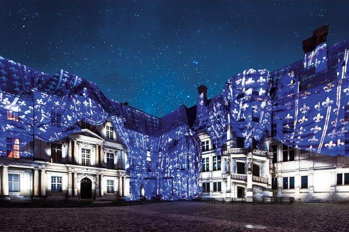 Journées du patrimoine 2018 - Son et Lumière du Château royal de Blois
