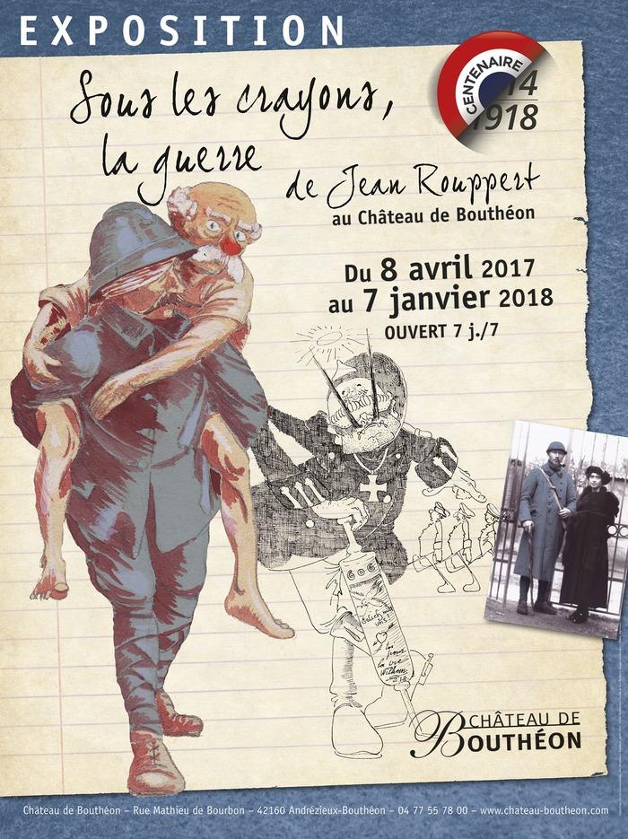 Journées du patrimoine 2017 - Sous les crayons, la guerre de Jean Rouppert 1914-1918