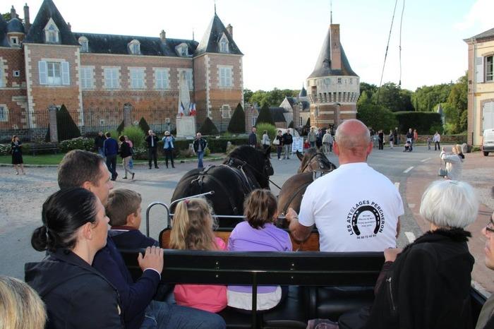Journées du patrimoine 2018 - Promenades en carriole
