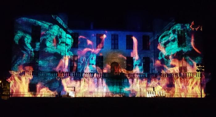 Journées du patrimoine 2018 - Spectacle 4D au château de Duras