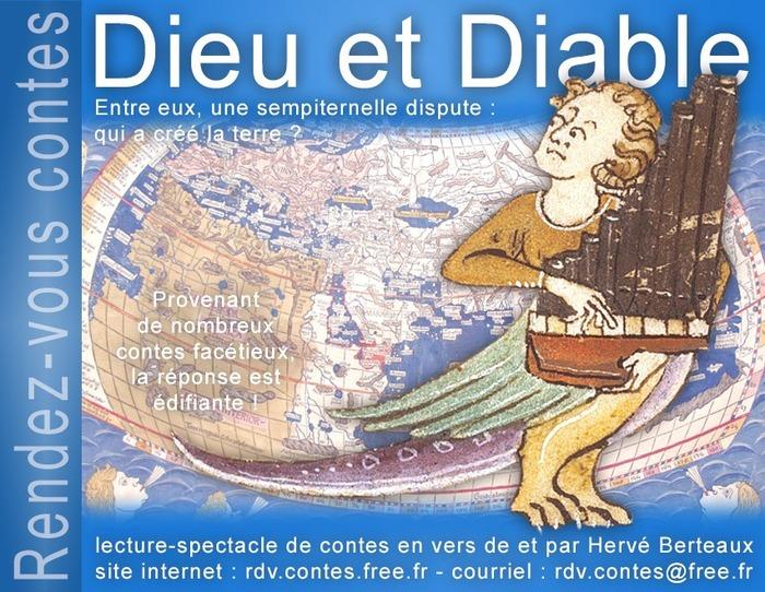 Journées du patrimoine 2018 - Spectacle conté Dieu et Diable