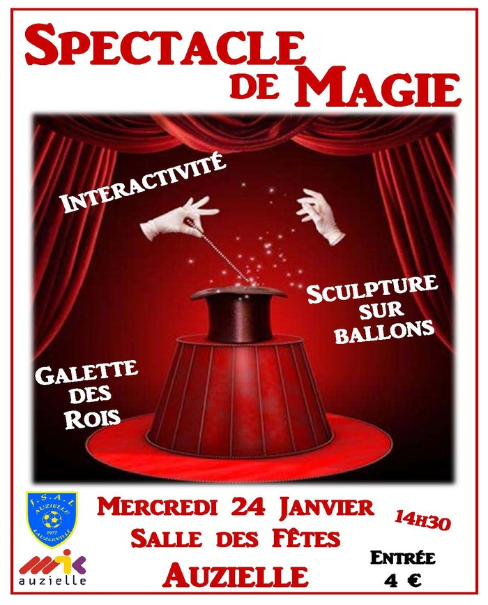 Spectacle de Magie - Auzielle