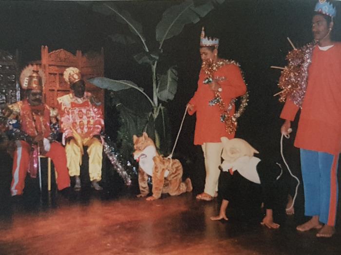 Journées du patrimoine 2018 - Spectacle de Nardegom  (avec présentation de masques traditionnels)