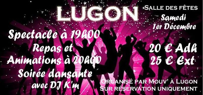 Spectacle, dîner et soirée dansante à Lugon