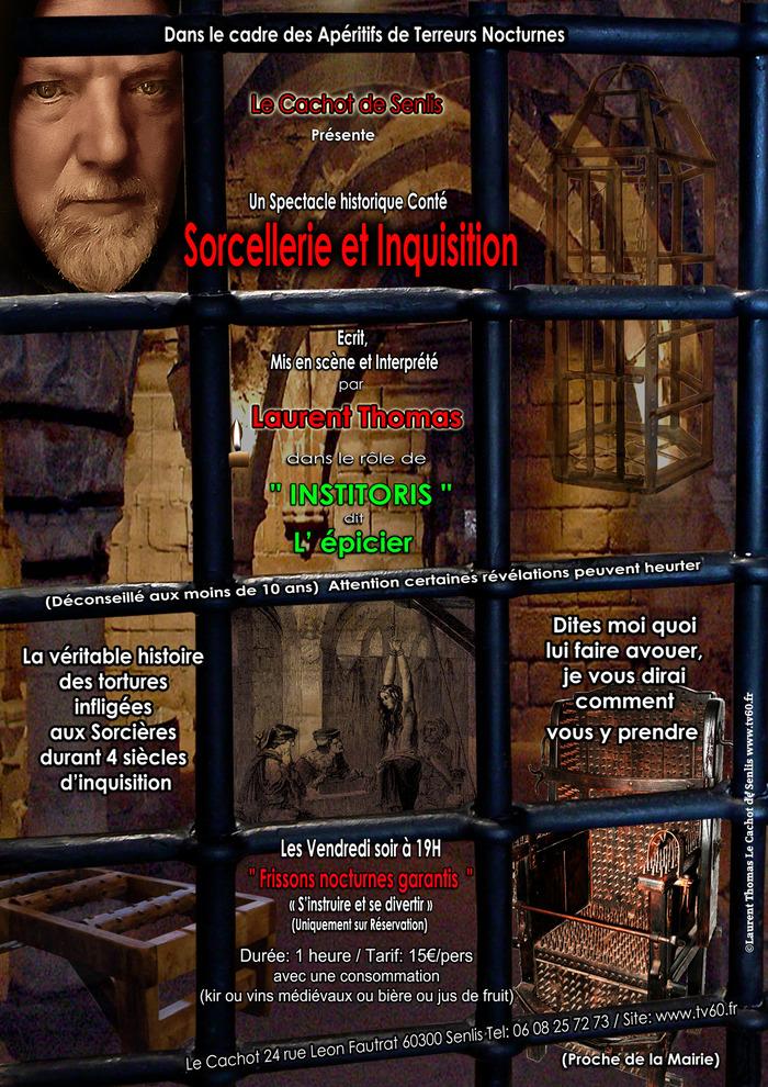 Journées du patrimoine 2018 - Spectacle historique conté sur la sorcellerie et l'inquisition au moyen-âge et à la renaissance