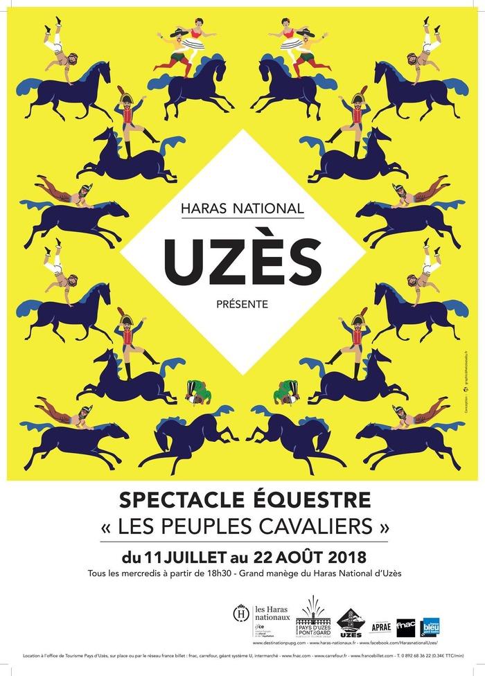 Spectacles Equestres, à Uzes (30)