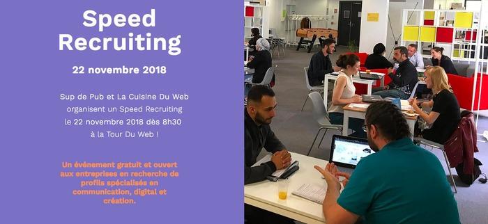Speed Recruiting - La Cuisine du Web