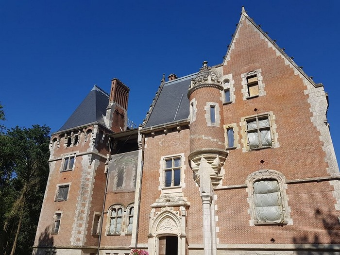 Journées du patrimoine 2018 - Splendeurs et déclins du Château de la Forêterie, à Allonnes