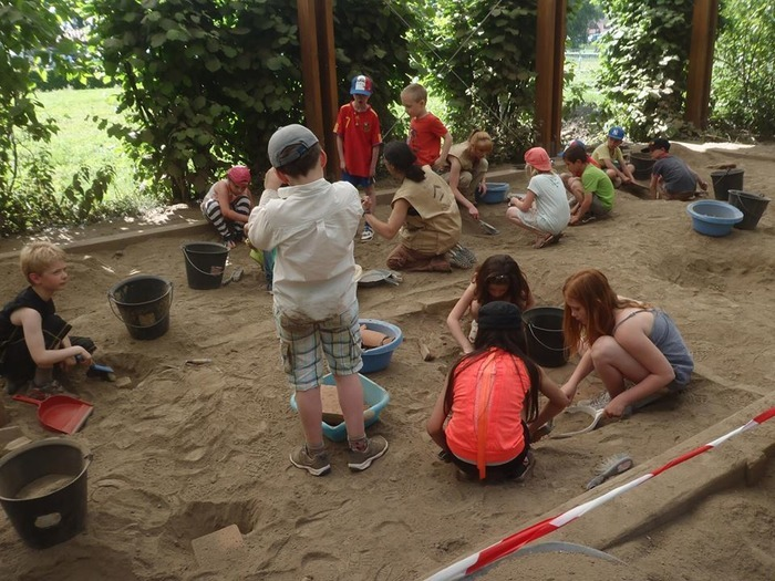 Stage archéologie au Parc Asnapio