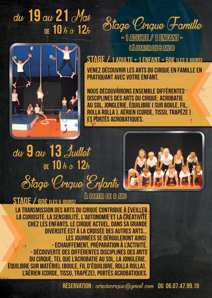Stage Cirque pour enfants