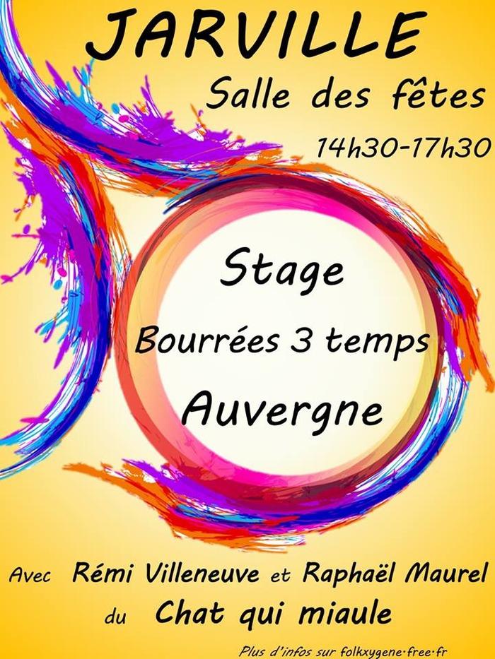 Stage de bourrées 3 temps d'Auvergne